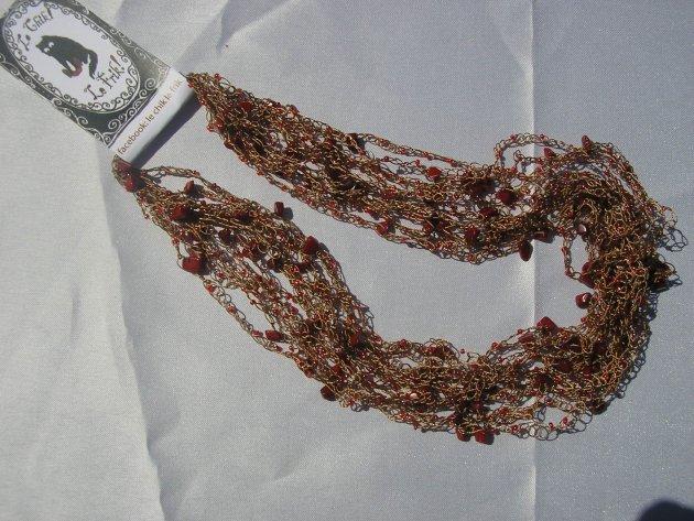 collares tejidos a crochet